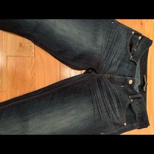 Express ankle legging jeans Stella low rise size 8